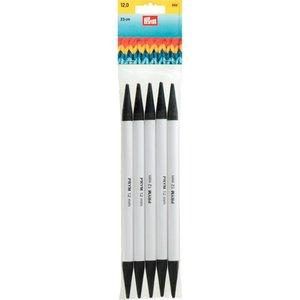Billigtpyssel.se | Dubbelspetsade sticknålar av plast grå 23 cm 12