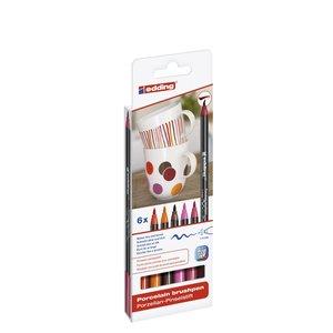 Billigtpyssel.se | Edding 4200 Porslinpenna - Varma Färger