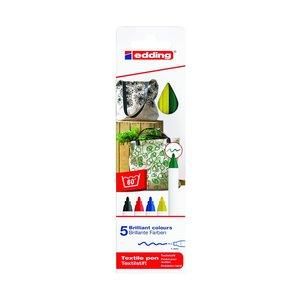 Billigtpyssel.se   Edding 4600 Textil - Basfärger