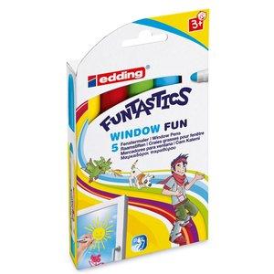 Billigtpyssel.se | Edding Window Fun - 5 Delar