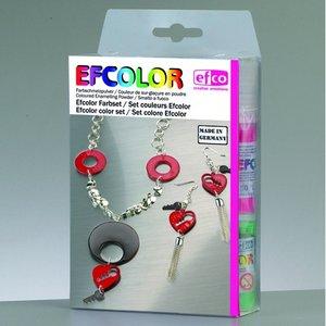 Billigtpyssel.se | Efcolor färgset - 10 x 10 ml