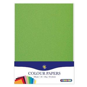 Billigtpyssel.se | Färgade papper A4