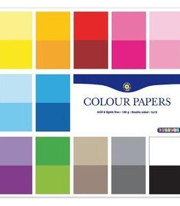 Billigtpyssel.se | Färgade syrafria papper i block