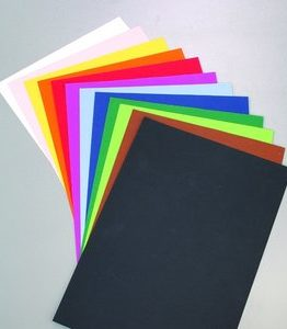 Billigtpyssel.se | Färgat papper 50 x 70 cm - 10 ark - 130 g/m²