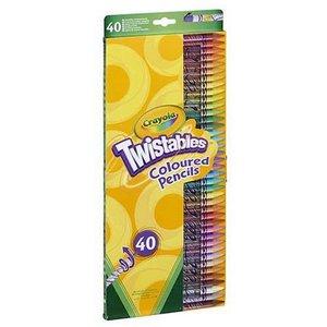 Billigtpyssel.se | Färgpennor Crayola Twist - 40 pennor