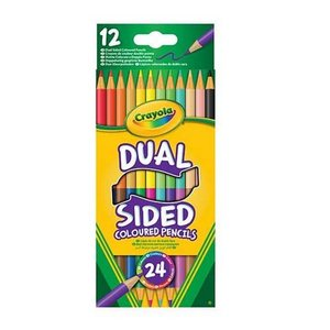 Billigtpyssel.se | Färgpennor Dual Crayola - 12 pennor