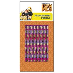 Billigtpyssel.se   Färgpennor Minions - 10 st