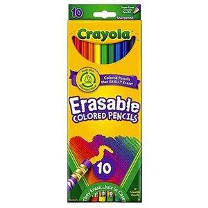 Billigtpyssel.se | Färgpennor med sudd Crayola - 10 pennor