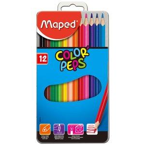 Billigtpyssel.se | Färgpennset Maped - 12 Pennor