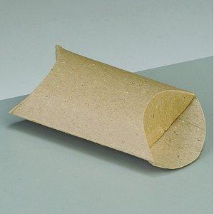 Billigtpyssel.se | Förseglingsask kudde 9 x 6 x 3 cm - brun
