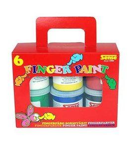Billigtpyssel.se | Fingerfärg Sense - 6 färger