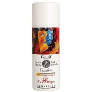 Billigtpyssel.se   Fixativ Oil Pastel Sennelier 400ml Sprayflaska