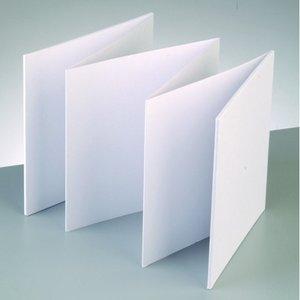 Billigtpyssel.se | Fotoalbum 15 x 15 cm - Vit 6 ark / 200 g / m²