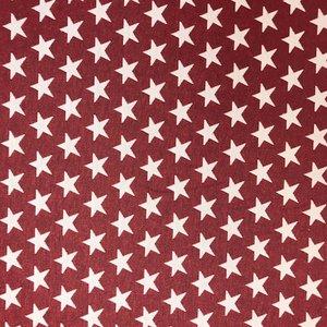 Billigtpyssel.se | Gardintyg Jaquard Jersey Stjärna