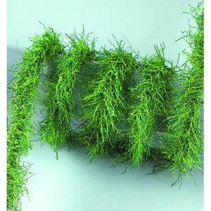 Billigtpyssel.se | Girlang mini 2 m / ø 2-3 cm - grön mix Gräs