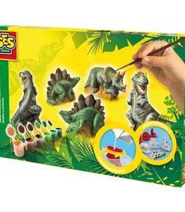 Billigtpyssel.se | Gjut och måla dinosaurier