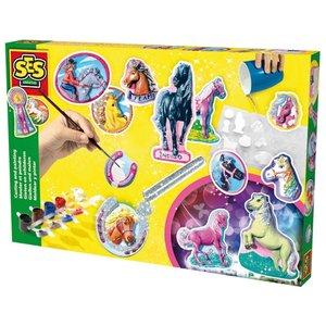 Billigtpyssel.se | Gjut och måla hästar med glitter
