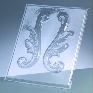 Billigtpyssel.se | Gjutform - bårder 18 cm