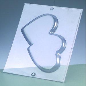 Billigtpyssel.se | Gjutform - dubbelhjärta 15 cm