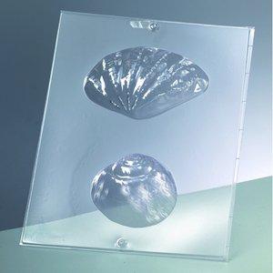 Billigtpyssel.se | Gjutform för tvål 120 x 70 mm / 80 mm - snäckskal + snigel / 2 delar