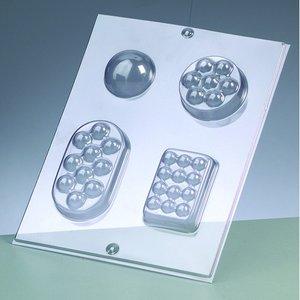 Billigtpyssel.se | Gjutform för tvål - massagetvål / 4 delar