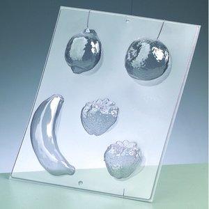 Billigtpyssel.se | Gjutform - frukt 5-12 cm