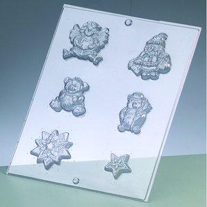 Billigtpyssel.se | Gjutform - julmotiv 3-7 cm