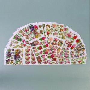 Billigtpyssel.se | Glansiga bilder - 25-pack - 1 st. Blommor - Modell blandade