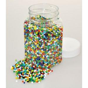 Billigtpyssel.se | Glaspärlor 500 g bas