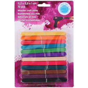 Billigtpyssel.se | Glasspinnar Färg - 72-pack
