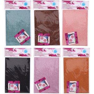 Billigtpyssel.se | Glitterpapper - 6-pack