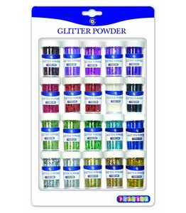 Billigtpyssel.se   Glitterströssel blandade 20 g - 20 st