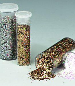Billigtpyssel.se | Glitterströssel holografiskt - 2