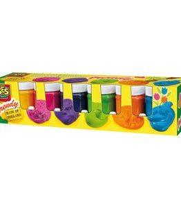 Billigtpyssel.se | Gouachefärg för barn - 6x45ml