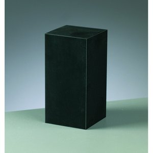 Billigtpyssel.se | Gummiblock 5 x 5 x 10 cm - svart