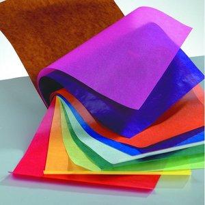 Billigtpyssel.se | Häfte med transparent papper 20 x 30 cm - blandade 10 blad