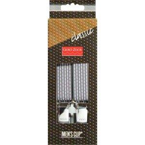 Billigtpyssel.se | Hängslen Classic 110cm 25mm mörkgrå