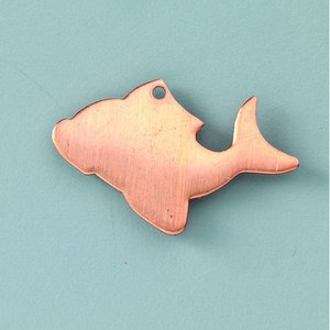 Billigtpyssel.se | Hängsmycke 35 x 22 mm - fisk