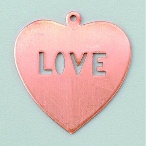 Billigtpyssel.se | Hängsmycke 36 x 39 mm - hjärta (love)