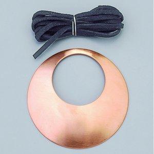 Billigtpyssel.se | Halsbandsdel ø 68 mm - 1 st runda kupade