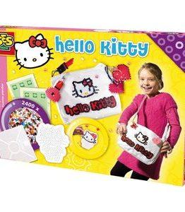 Billigtpyssel.se | Hello Kitty väskdekor - Dekorera din väska med pärlor