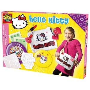 Billigtpyssel.se   Hello Kitty väskdekor - Dekorera din väska med pärlor