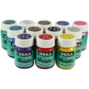 Billigtpyssel.se | Hobbyfärg Deka Colormetallic 25 Ml