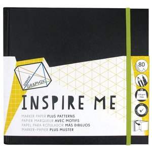 Billigtpyssel.se | Inspire Me Book - 20x20 mm