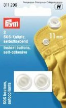 Billigtpyssel.se | Instant buttons self-adhesive 11mm 2 st