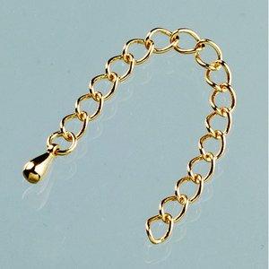 Billigtpyssel.se   Justerbart armband l 6 cm - guldpläterade 2 st