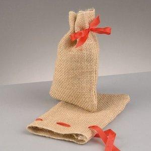 Billigtpyssel.se | Jutesäck med knytsnöre 10 x 14 cm - 24 st