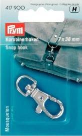 Billigtpyssel.se | Karbinhake 7/38 mm silverfärg