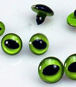 Billigtpyssel.se | Kattögon - grön 4 st