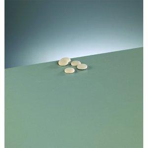 Billigtpyssel.se | Knappform i trä 15 mm - 50-pack - blekt runda